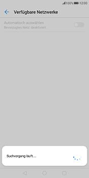 Huawei Mate 10 Pro - Netzwerk - Manuelle Netzwerkwahl - Schritt 10