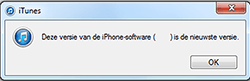 Apple iPhone 6 (iOS 10) - software - update installeren via pc - stap 6