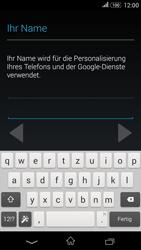 Sony E2003 Xperia E4G - Apps - Konto anlegen und einrichten - Schritt 6