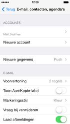 Apple iPhone 5s - E-mail - e-mail instellen: IMAP (aanbevolen) - Stap 16
