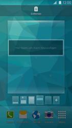 Samsung Galaxy S 5 - Startanleitung - Installieren von Widgets und Apps auf der Startseite - Schritt 8
