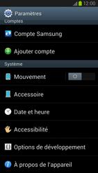 Samsung Galaxy S III LTE - Logiciels - Installation de mises à jour - Étape 5