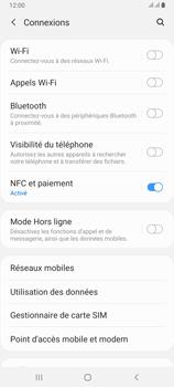 Samsung Galaxy A80 - Internet et roaming de données - Comment vérifier que la connexion des données est activée - Étape 5