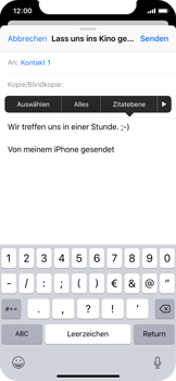 Apple iPhone XS - E-Mail - E-Mail versenden - 9 / 16