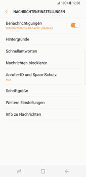 Samsung Galaxy S8 - SMS - Manuelle Konfiguration - Schritt 6