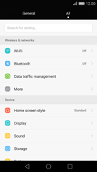 Huawei Ascend P8 - Internet and data roaming - Disabling data roaming - Step 3