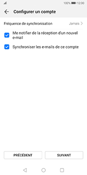 Huawei Mate 10 Pro - Android Pie - E-mail - configuration manuelle - Étape 16