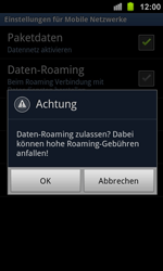 Samsung Galaxy Ace 2 - Ausland - Im Ausland surfen – Datenroaming - 2 / 2