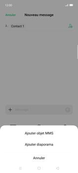 Oppo Find X2 Lite - Contact, Appels, SMS/MMS - Envoyer un MMS - Étape 10