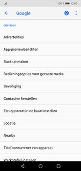 Huawei P20 Lite - Beveiliging en privacy - zoek mijn mobiel activeren - Stap 4