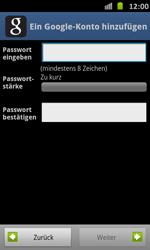 Samsung Galaxy S Advance - Apps - Einrichten des App Stores - Schritt 9