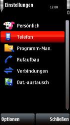 Nokia 5800 Xpress Music - Fehlerbehebung - Handy zurücksetzen - 6 / 11