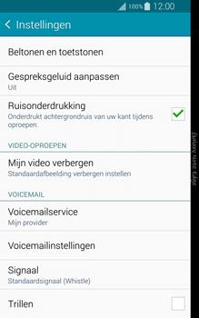 Samsung Galaxy Note Edge - voicemail - handmatig instellen - stap 7