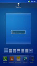 Samsung Galaxy S 4 Active - Startanleitung - Installieren von Widgets und Apps auf der Startseite - Schritt 8