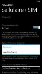 Nokia Lumia 930 - Internet et roaming de données - Désactivation du roaming de données - Étape 6