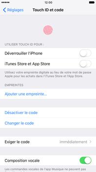 Apple iPhone 7 Plus - Sécuriser votre mobile - Activer le code de verrouillage - Étape 7