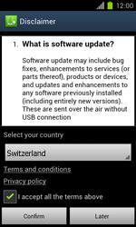 Samsung Galaxy S II - Software - Installing software updates - Step 7