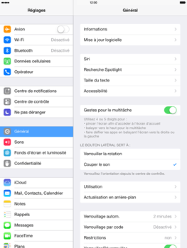 Apple iPad Air - E-mail - configuration manuelle - Étape 3