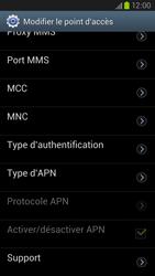 Samsung Galaxy S III LTE - MMS - Configuration manuelle - Étape 14