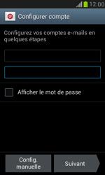 Samsung I8190 Galaxy S III Mini - E-mail - Configurer l