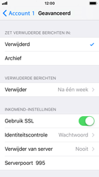 Apple iPhone 5s - iOS 11 - E-mail - Account instellen (POP3 met SMTP-verificatie) - Stap 22