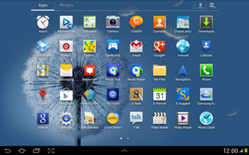 Samsung N8000 Galaxy Note 10-1 - E-mail - Sending emails - Step 3