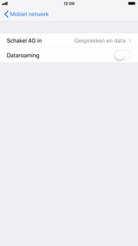 Apple iPhone 6s Plus - iOS 12 - Netwerk - Wijzig netwerkmodus - Stap 5