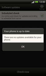 HTC One SV - Software - Installing software updates - Step 9