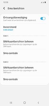 Samsung Galaxy A20e - sms - handmatig instellen - stap 11