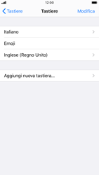 Apple iPhone 6s - iOS 13 - Operazioni iniziali - Come aggiungere una lingua alla tastiera - Fase 8