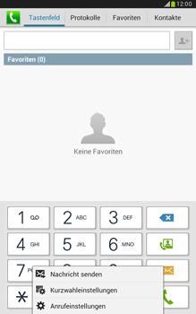 Samsung Galaxy Note 8-0 - Anrufe - Anrufe blockieren - 1 / 1