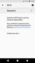 Sony Xperia XZ Premium - Android Oreo - Wifi - configuration manuelle - Étape 5