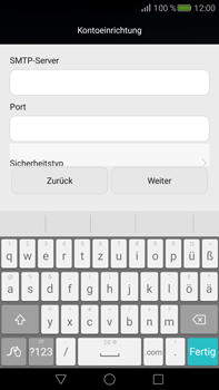 Huawei Mate S - E-Mail - Konto einrichten - 0 / 0