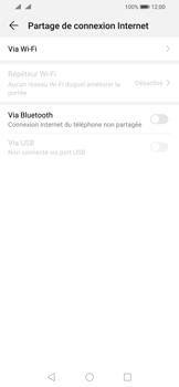 Huawei P Smart (2019) - Internet - comment configurer un point d'accès mobile - Étape 5