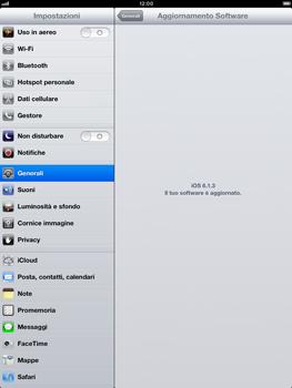 Apple iPad Retina - Software - Installazione degli aggiornamenti software - Fase 8