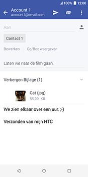 HTC u12-plus - E-mail - Bericht met attachment versturen - Stap 17