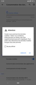 Sony Xperia 5 - Internet et roaming de données - Comment vérifier que la connexion des données est activée - Étape 7
