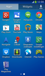 Samsung S7580 Galaxy Trend Plus - apps - account instellen - stap 3