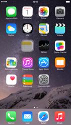 Apple iPhone 6 Plus - iOS 8 - Startanleitung - Personalisieren der Startseite - Schritt 4
