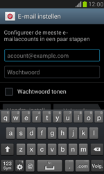 Samsung I8190 Galaxy S III Mini - E-mail - handmatig instellen (yahoo) - Stap 5