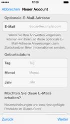 Apple iPhone 5 - Apps - Konto anlegen und einrichten - 25 / 36