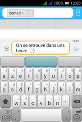 Alcatel Pixi 3 Dual Sim - Contact, Appels, SMS/MMS - Envoyer un SMS - Étape 9