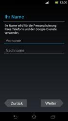 Sony Xperia T - Apps - Einrichten des App Stores - Schritt 5