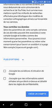 Samsung Galaxy A6 - Applications - Créer un compte - Étape 14