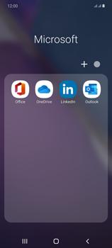 Samsung Galaxy Note20 - E-mails - Ajouter ou modifier votre compte Outlook - Étape 4