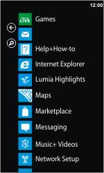 Nokia Lumia 900 - E-mail - Sending emails - Step 3