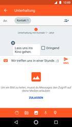 Motorola Moto G5s - MMS - Erstellen und senden - 14 / 23