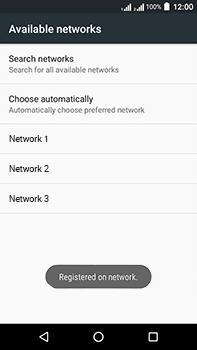 Acer Liquid Zest 4G Plus DualSim - Network - Manually select a network - Step 11