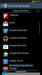 Samsung Galaxy S 4 Active - Apps - Eine App deinstallieren - Schritt 9