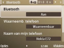 Nokia E72 - bluetooth - aanzetten - stap 7